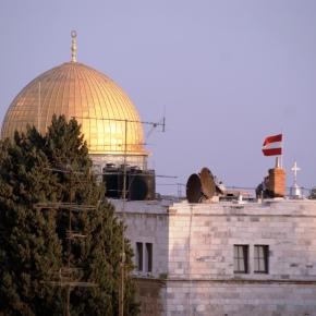 Österreichischer Nationalfeiertag – mit Sachertorte in Jerusalem(2009)