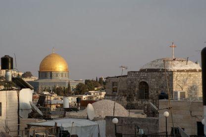 Der Felsendom ist der zentrale Blickpunkt in der Jerusalemer Altstadt.