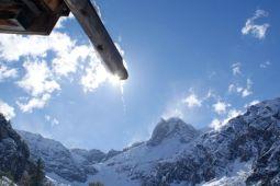 Aber das sich bessernde Wetter sorgte für prächtige Berge.