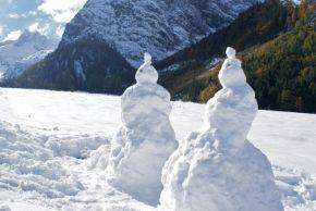 Wintereinbruch am Achensee