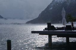 """Der Achensee präsentierte sich """"Novemberlich"""""""