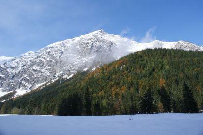 Wintereinbruch in Pertisau