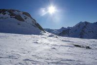 Sonne und Schnee - einfach immer wieder schön.
