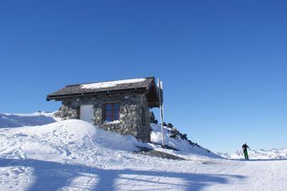 Die Zollhäuser markieren den Grenzverlauf zwischen der Schweiz und Österreich.