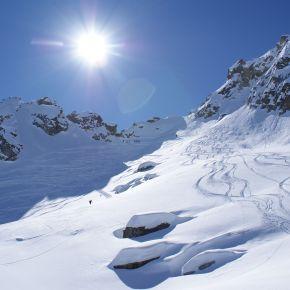 Endlich wieder auf Skitour –Kromerscharte