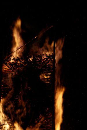 Feuer ist einfach faszinierend.