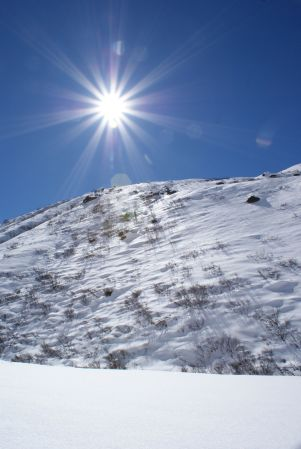 Viel Schnee ist im Vergalda-Tal nicht mehr übrig.