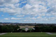 Der Blick über Schönbrunn und Wien