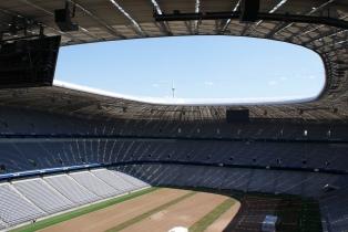 Die Arena beeindruckt auch Innen.