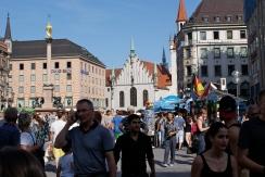 Das alte Rathaus liegt ebenfalls am Marienplatz - ist aber etwas kleiner ausgefallen.