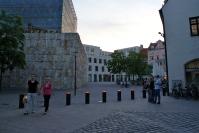 Das jüdische Zentrum am St. Jakobsplatz - hier wurde auf einer seit dem Krieg frei liegenden Fläche wieder ein Zentrum für das Judentum in München geschaffen.