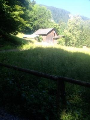 Bei dieser Hütte war die Tour fast schon am Höhepunkt.