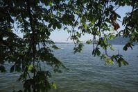 Der Bodensee sorgt für etwas Abkühlung an heißen Tagen.