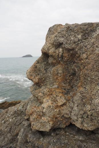 Steinfiguren von Rothéneuf,