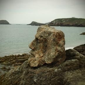 Die Steinskulpuren inRothéneuf