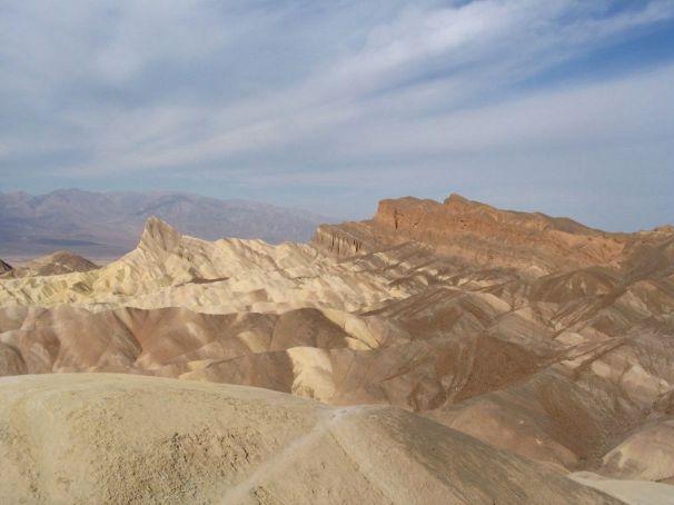 Zabrisikie Point - einer der berühmtesten Aussichtspunkte im Tal des Todes.