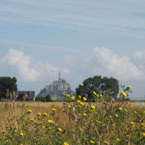 Ein Tag am Mont Saint Michel