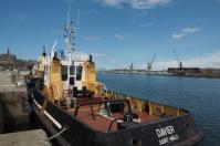 Die Hafenanlagen von Saint Malo liegen zwischen Saint Servan und Saint Malo.