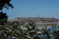 Blick zurück nach Saint Malo