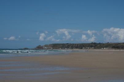 Tolle Wellen und tolle Bucht - St. Ouens Bay.