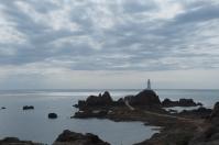 La Corbière Lighthouse an der Südwest-Spitze von Jersey.
