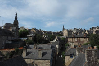 Blick über die Stadt von der Stadtmauer.