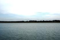 Im Unterlauf ist die Rance eher ein See, als ein Fluss.