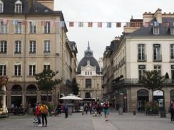 """Der rechtwinklige Grundriss der Straßen führt zu vielen """"Durchblicken"""""""