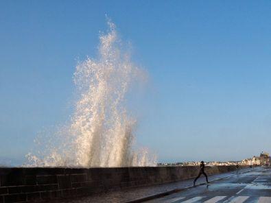 Das Wasser ist der Star in Saint Malo.