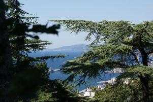 Tolle Aussichten am Colle San Giusto.