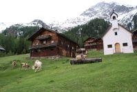 Wunderschöne Bauernhäuser.