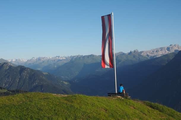 Frassenhütte, Österreich, Berge, Alpen, Rhätikon