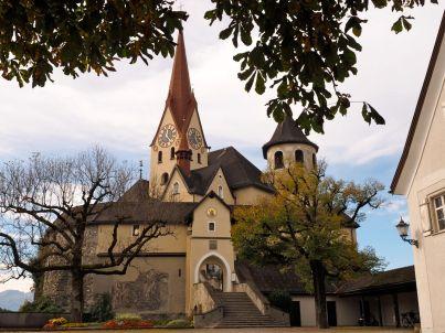 Die Basilika Rankweil - ein richtiges Kleinod.