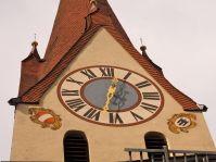 In Rankweil braucht man keine Uhren, denn die Turmuhr ist gut einsehbar.
