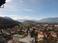 Oder über die Gemeinde Richtung Ardetzenberg und Schweizer Berge.