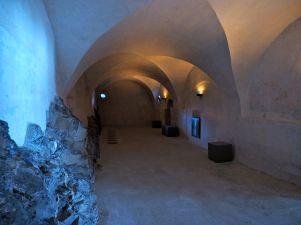 Die modern gestaltete Kapelle zum Gedächtnis von Kriegsopfern.