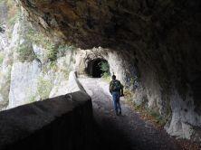 Die Tunnel lassen Gardasee Flair aufkommen.