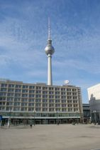 Am Alexanderplatz.