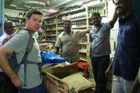 Der einzige (?) Bierladen in Madurai.