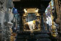 Nandi ist in jedem Tempel zu finden, der mit Shiva zu tun hat.