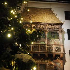 Winterliches Innsbruck zurWeihnachtszeit