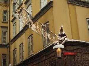 Die Märchengasse in der Altstadt ist bei Kindern sehr beliebt.