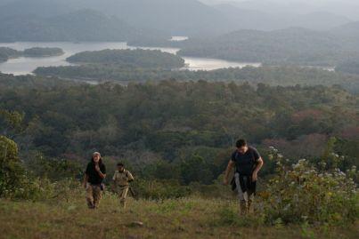 Auf den Spuren der Wilden Tiere bestiegen wir zahlreiche Hügel des Nationalparks.