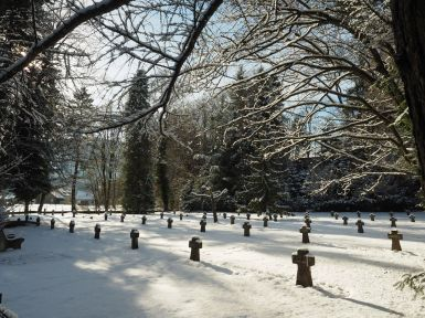 Der Soldatenfriedhof in Feldkirch.