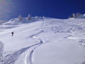 Landschaftlich reizvolle Skitour zurGerenspitze