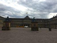 Die Residenz der Könige von Württemberg: das neue Schloss.