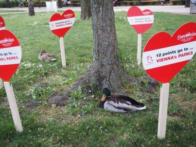12 Punkte für die Wiener Parks - wir stimmen zu.