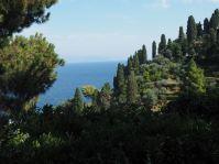 Grün und blau - das prägt die Halbinsel.