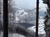 Der Zeller See im Winterkleid.