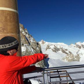 Skifahren im ValléeBlanche